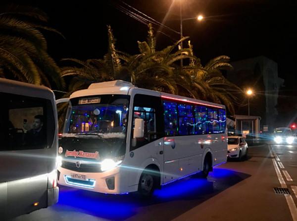 Изменение движения автобусов