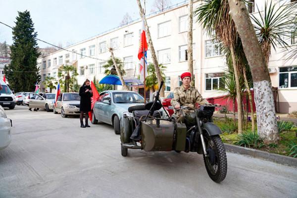 Автопробег по местам воинской славы
