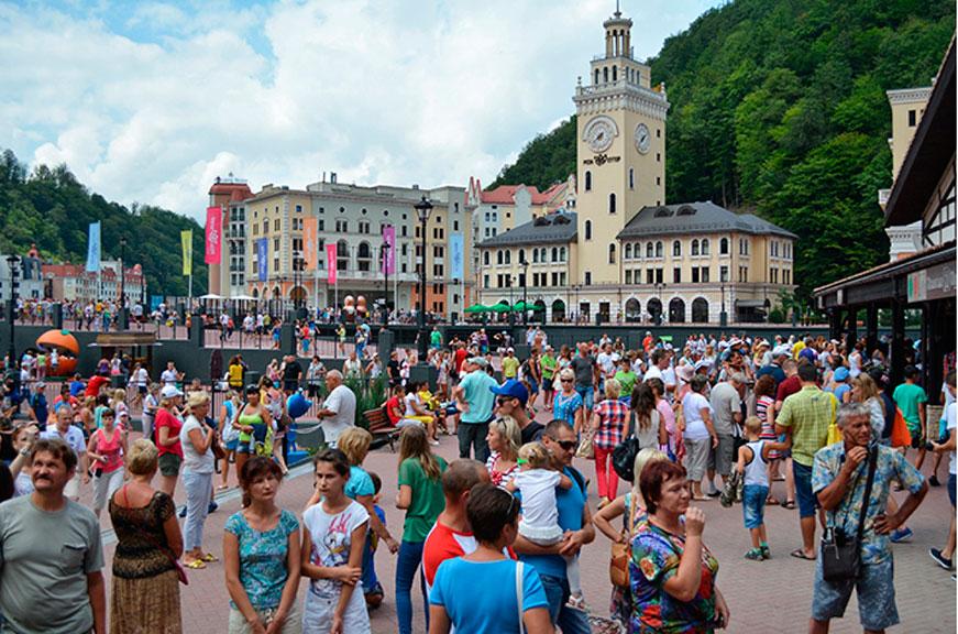 В Сочи отметили Всемирный день туризма