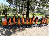 Схема пунктов проката велосипедов и самокатов