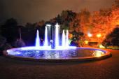 Фонтан в Комсомольском сквере