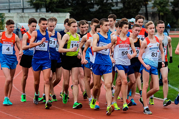 Всероссийские соревнования по ходьбе