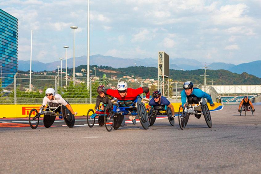 V юбилейный Международный полумарафон на спортивных колясках