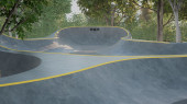 Скейт-парк почти готов