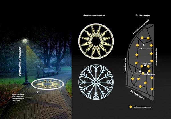 Концепция всесезонного светового оформления