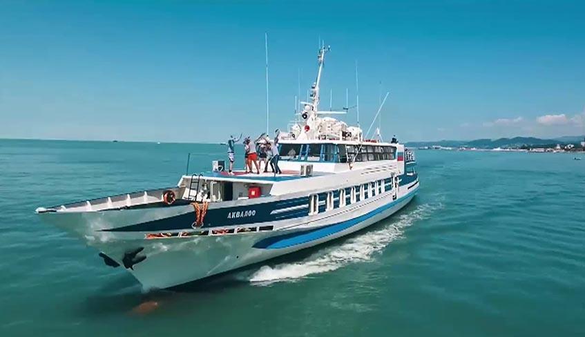 Морское сообщение между Сочи и Туапсе